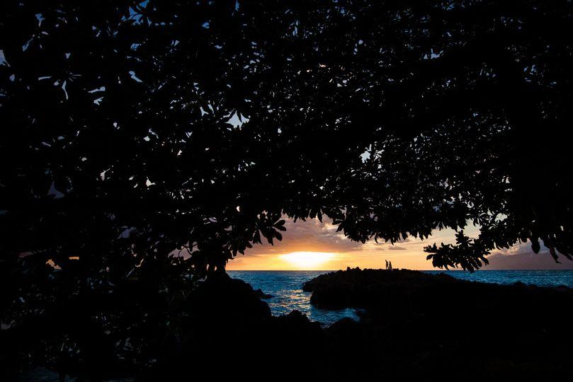 Silhouette in Maui