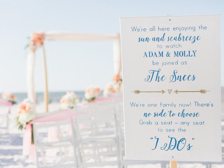 Tmx 1482859859665 Mollyadamwedding327 Clearwater Beach, Florida wedding venue
