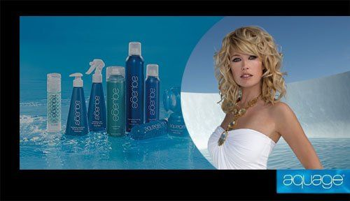 We Proudly Use Aquage Products.