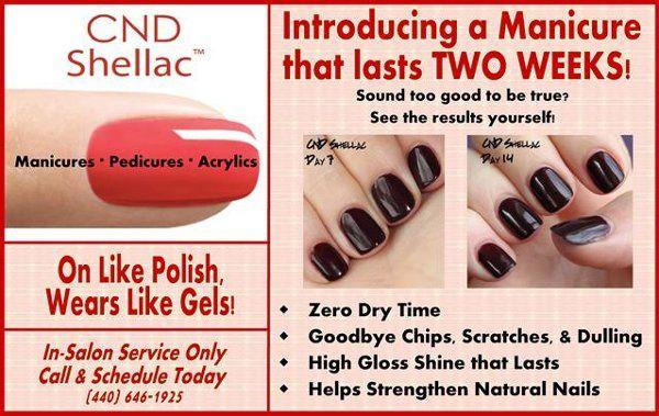 We Offer Shellac Polish