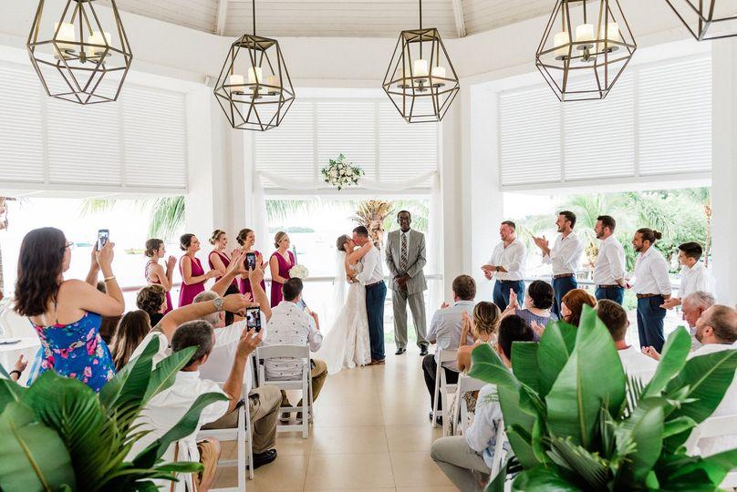 A wedding in Jamaica