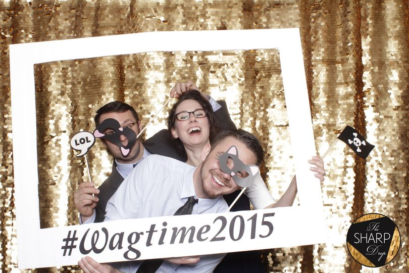 warl wagtime open air photo booth modern the sharp