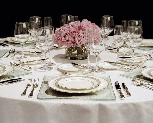 Event Space - table setting