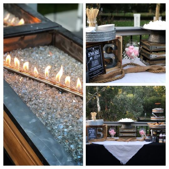 Our Elegant Glass Fire Pit