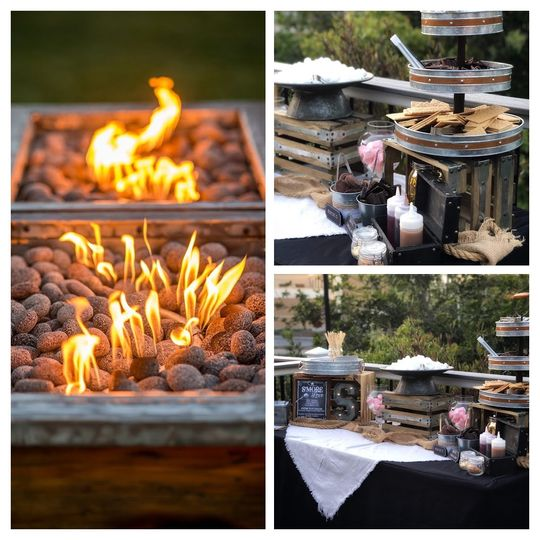 Our Rustic Fire Pit