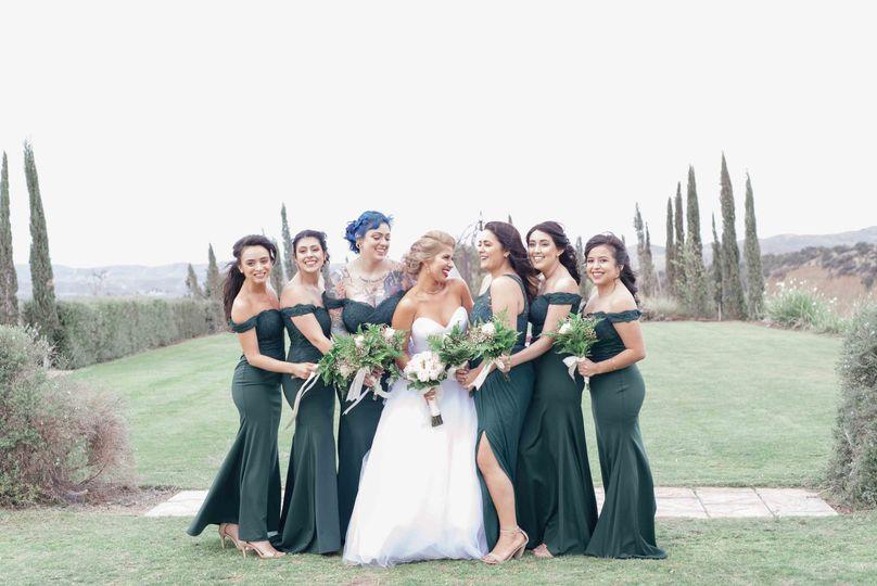 Bride squad...