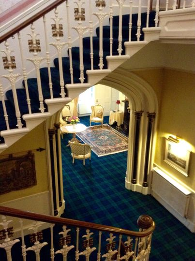 lovely stairs to new carpet