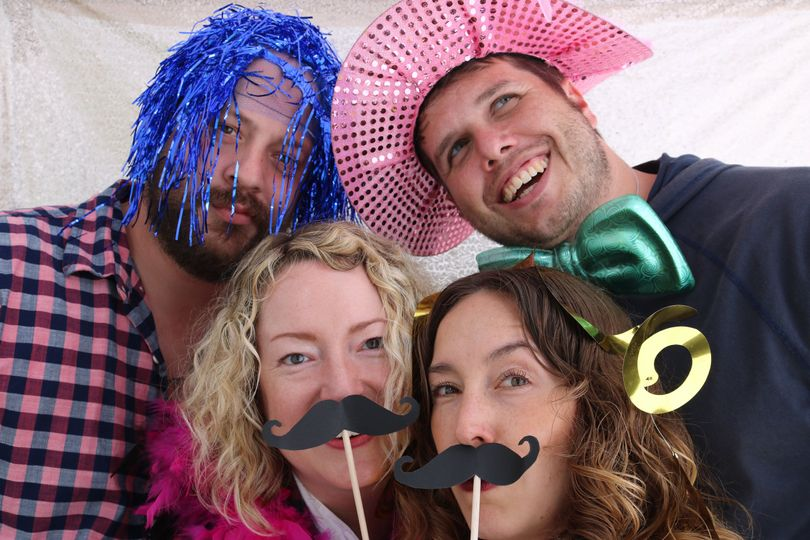 Photo booth photo example