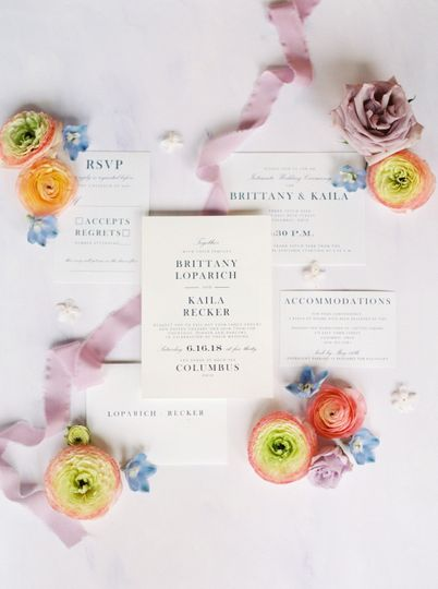 Simple Modern Invitation