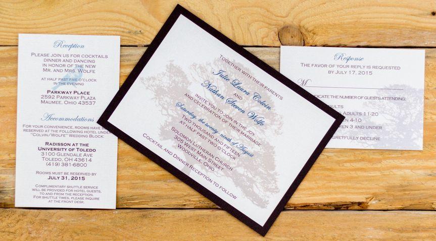 how inviting ltd wedding invitations ohio columbus zanesville