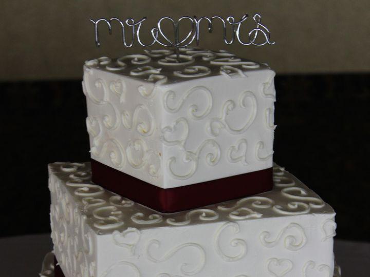 Tmx 1416334343602 Img1538 Columbia, Maryland wedding cake