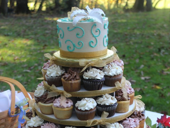 Tmx 1430498118478 Img2042 Columbia, Maryland wedding cake