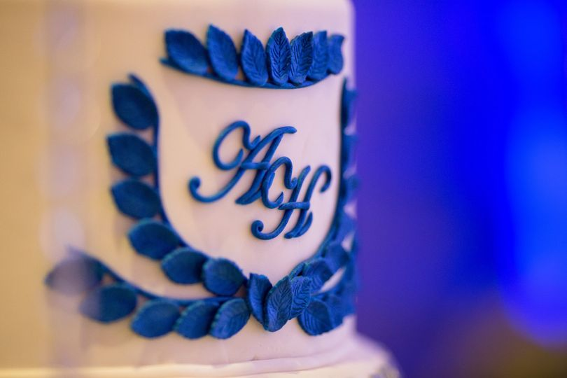 harnoor and ankur wedding cake9