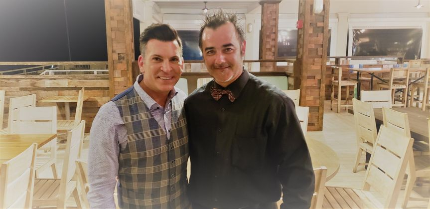 DJ Leeor and David Tutera