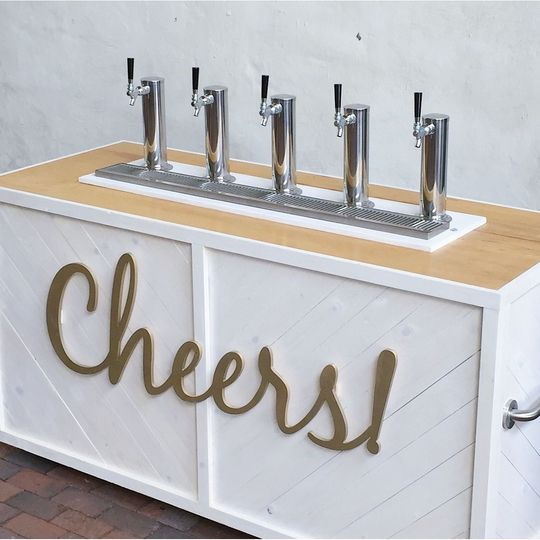 Cheers signage