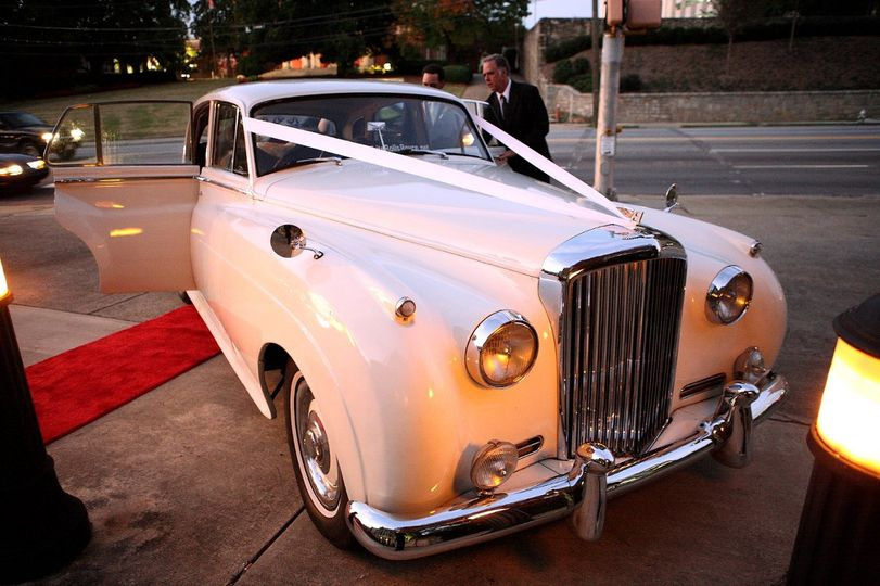 Our Amazing 1956 Bentley getting ready for the Bride and groom. The photo ops for the cars in your...