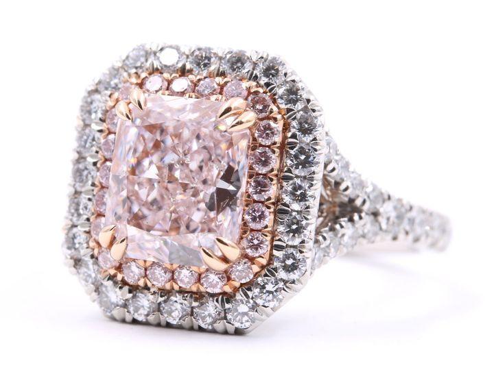 Tmx 1537821933 F44270b1b6ea8b33 1537821931 98bcfd95df8dfec5 1537821936523 1 Pink Diamond Engag Tustin wedding jewelry