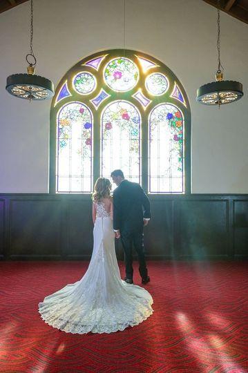 Window in Brides Suite