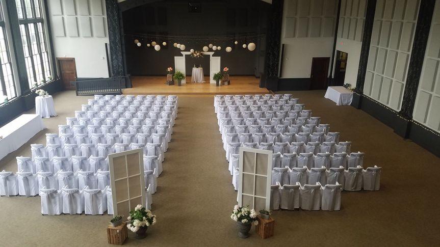 Wedding Ceremony (170 guests)