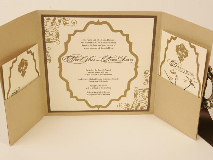 Tmx 1490127242098 Gallery25a Santa Ana, CA wedding invitation