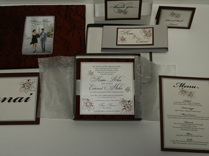 Tmx 1490127263404 Gallery25b Santa Ana, CA wedding invitation