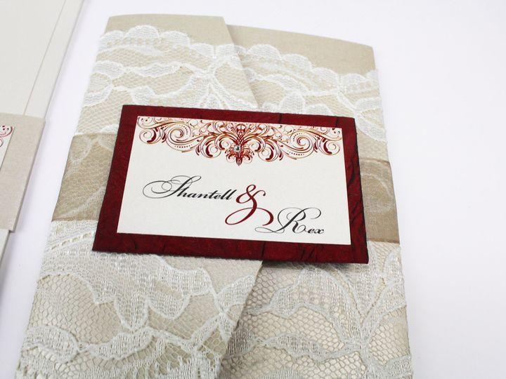 Tmx 1490127286271 Gallery32 Santa Ana, CA wedding invitation