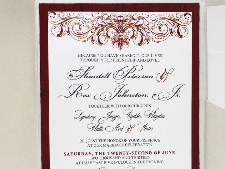Tmx 1490127302268 Gallery33 Santa Ana, CA wedding invitation