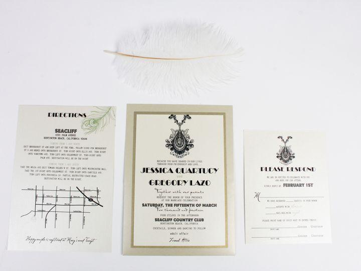 Tmx 1490127334073 Gallery44 Santa Ana, CA wedding invitation