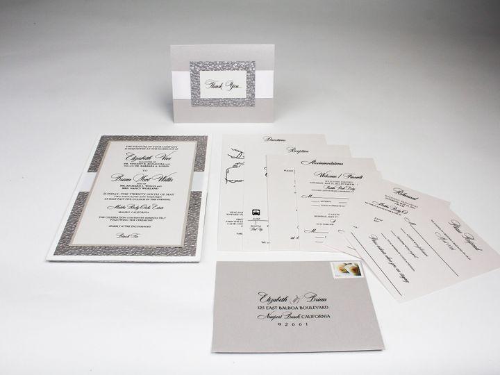 Tmx 1490127802050 Gallery17 Santa Ana, CA wedding invitation