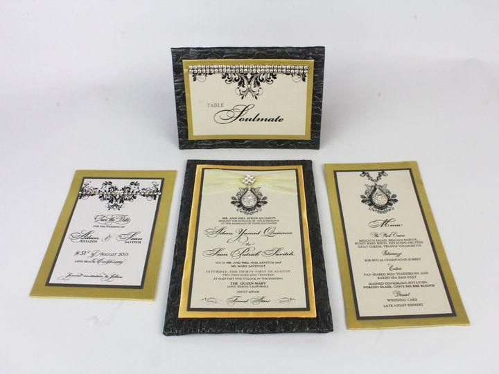 Tmx 1490131097803 Gallery8 Santa Ana, CA wedding invitation