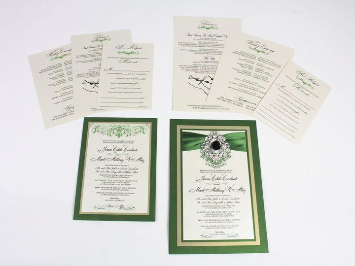 Tmx 1490131113374 Gallery13 Santa Ana, CA wedding invitation
