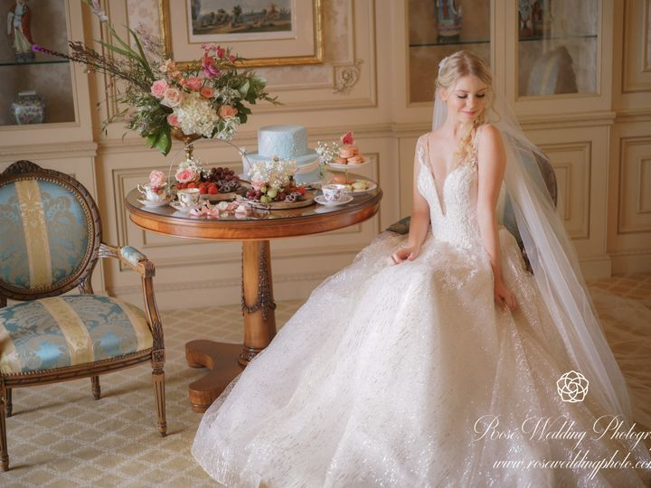 Tmx Parisian Wedding 17 51 910890 Santa Ana, CA wedding invitation