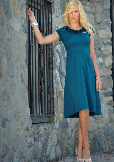 Serena in Antique Turquoise