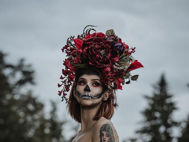 Tmx Glam Skull 1 51 1012890 1572296816 Littleton, Colorado wedding florist