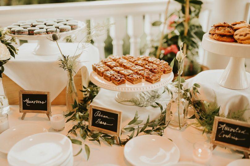 Mini dessert display