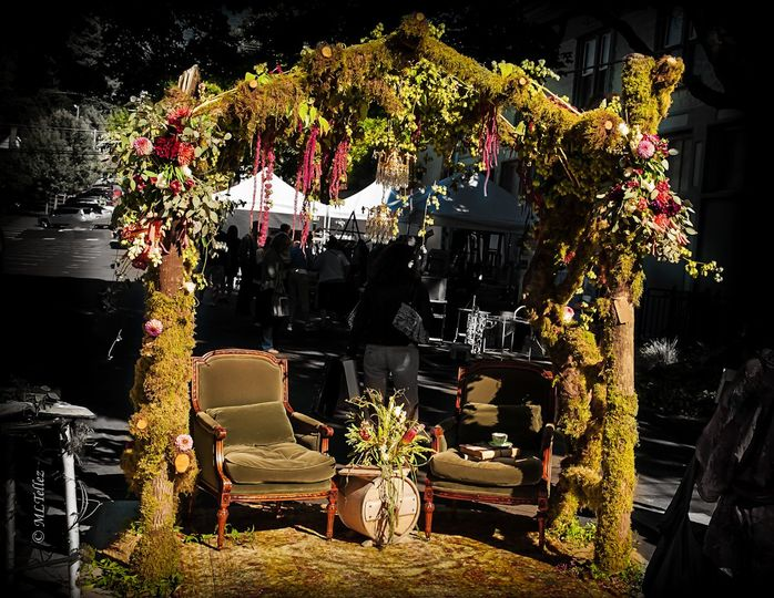 This is a beautiful moss arbor. Can be used inside or outside. Looks awesome with lights,...