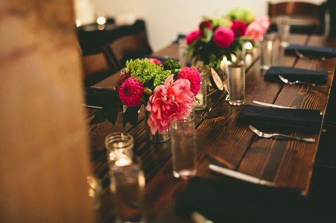 Wedding at Union Pine Coordinator - Luxe Event Productions Photography - Jamie Jones Farm Tables -...