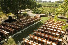 The gorgeous vineyard setting welcomed 175 guests from southern Calfornia for this August wedding in...