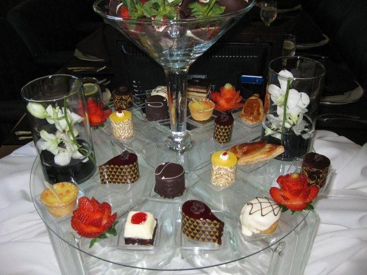 access dessert pres close up