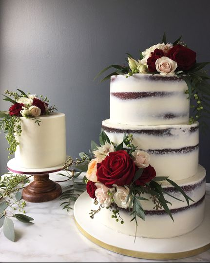 Country styled cake