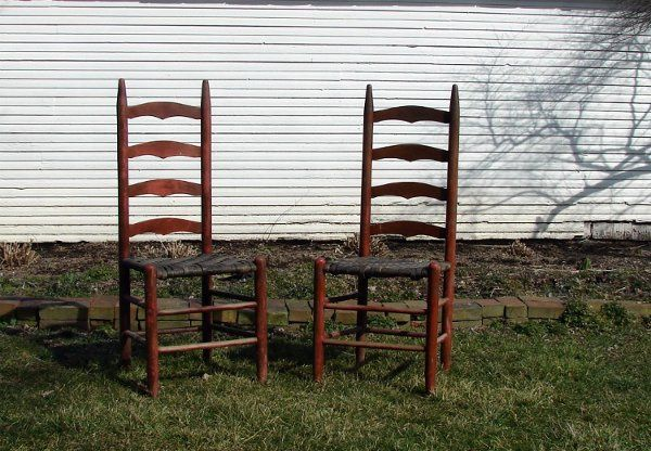 Tmx 1329530022058 RedLadderBackChairSet New Freedom wedding planner