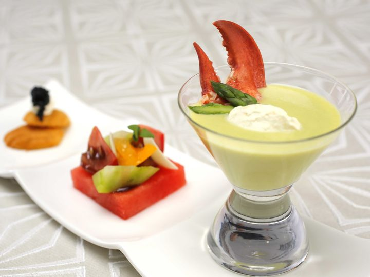 Tmx 1444928655502 Chilled Asparagus Vichyssoise Watermelon  Heirloom Altamonte Springs wedding catering