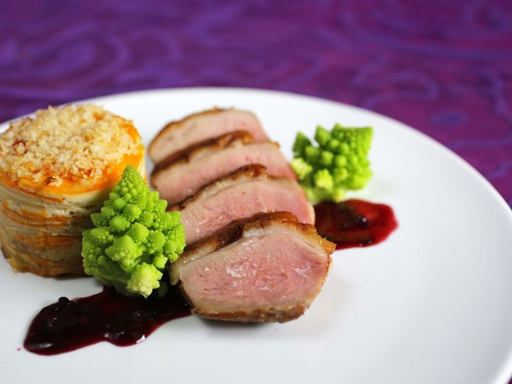 Tmx 1444928728686 Roasted Duck Breast With Blackberry Ancho Chile Sa Altamonte Springs wedding catering