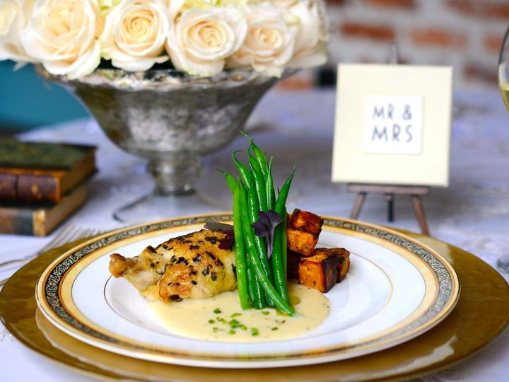 Tmx 1478637882032 Plated Entree  Chicken Altamonte Springs wedding catering