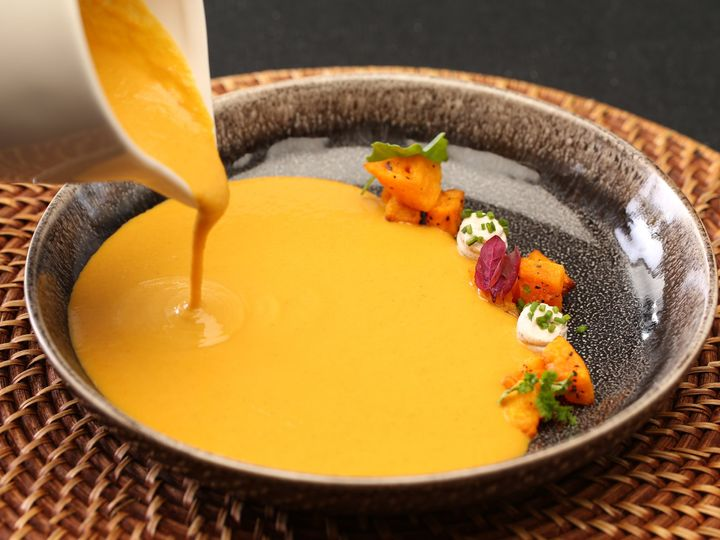 Tmx Plated Soup Butternut Squash Soup 51 49890 160286771231473 Altamonte Springs wedding catering