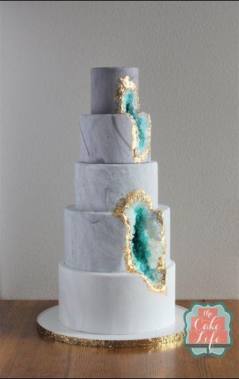 geode rock cake
