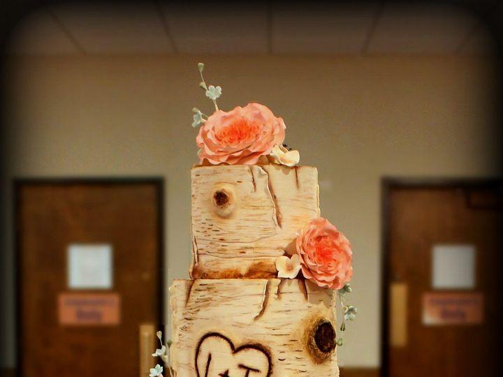 Tmx 1491182367716 Birch Bark Wedding Cake 1 Dickinson wedding cake