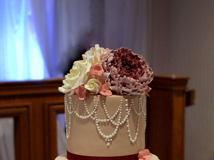 Tmx 1491183858140 Vintage Wedding Cake 2 Dickinson wedding cake