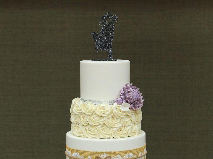 Tmx 1491183888113 Rustic Bling Wedding Cake2 Dickinson wedding cake