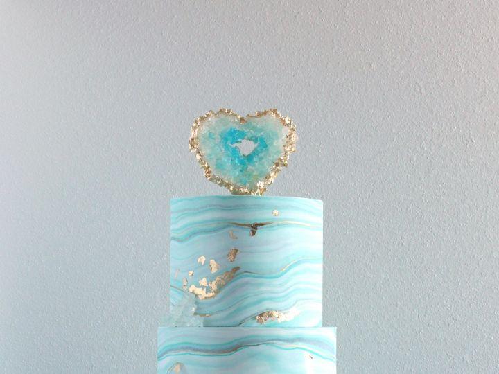 Tmx 1491184043271 Geode Marble Cake Dickinson wedding cake